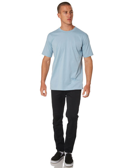 PALE BLUE MENS CLOTHING AS COLOUR TEES - 5026PBLU