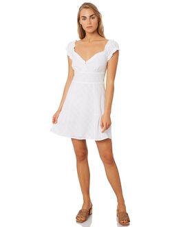 WHITE VINES WOMENS CLOTHING THE EAST ORDER DRESSES - EO190924DWHT