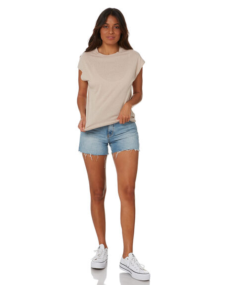 SAND OUTLET WOMENS SWELL TEES - S8211003SAND