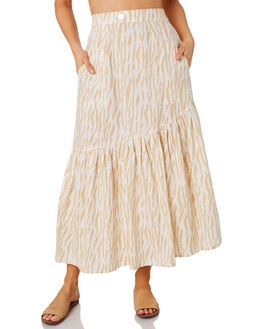 LE TIGRE SAND WOMENS CLOTHING RUE STIIC SKIRTS - RWS-19-35-3LTGSD