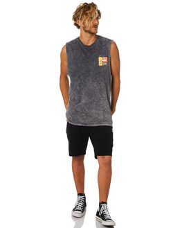 COAL MENS CLOTHING RUSTY SINGLETS - MSM0239COA