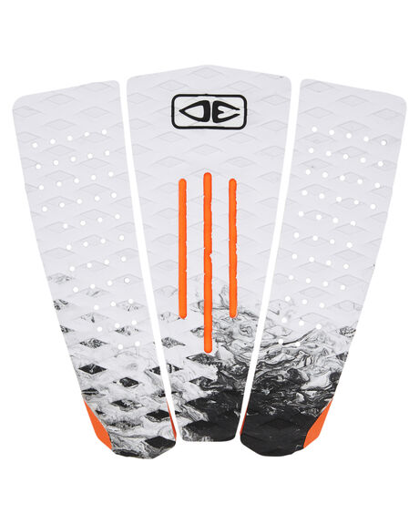 WHITE BOARDSPORTS SURF OCEAN AND EARTH TAILPADS - TP62WHT