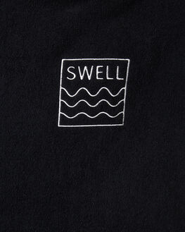 BLACK MENS ACCESSORIES SWELL TOWELS - S52041801BLACK