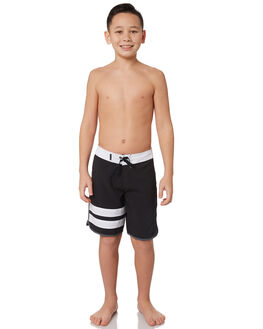 BLACK BLACK KIDS BOYS HURLEY BOARDSHORTS - BQ2500010