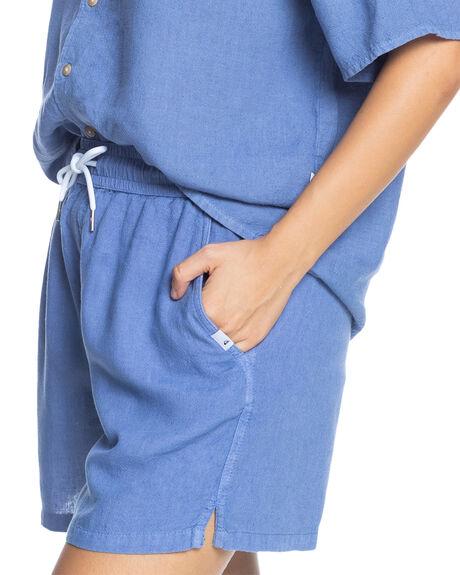 STONE WASH WOMENS CLOTHING QUIKSILVER SHORTS - EQWNS03038-BKJ0