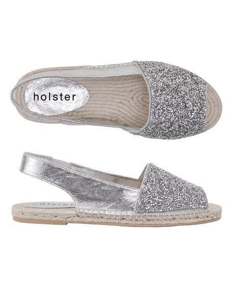 SILVER WOMENS FOOTWEAR HOLSTER FASHION SANDALS - HS356SI5