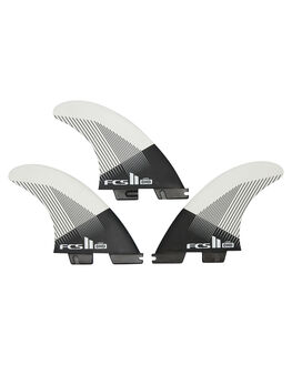 BLACK WHITE BOARDSPORTS SURF FCS FINS - FDHM-PC01-TS-RBLKWH