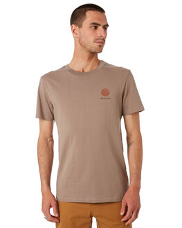 KHAKI MENS CLOTHING MCTAVISH TEES - MS-19T-01KHAKI