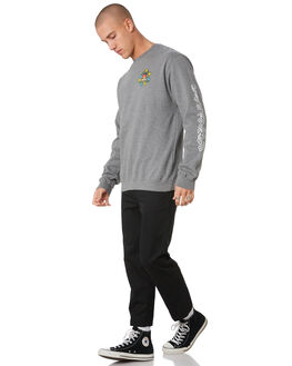 GUNMETAL HEATHER MENS CLOTHING KROOKED JUMPERS - 53023013GMHEA
