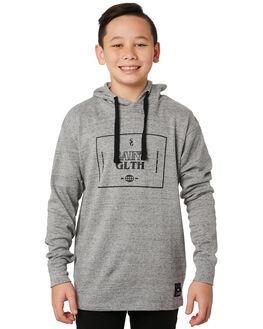 GREY MARLE KIDS BOYS ST GOLIATH JUMPERS + JACKETS - 2432019GRM