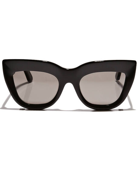 GLOSS BLACK WOMENS ACCESSORIES VALLEY SUNGLASSES - S0075GBLK