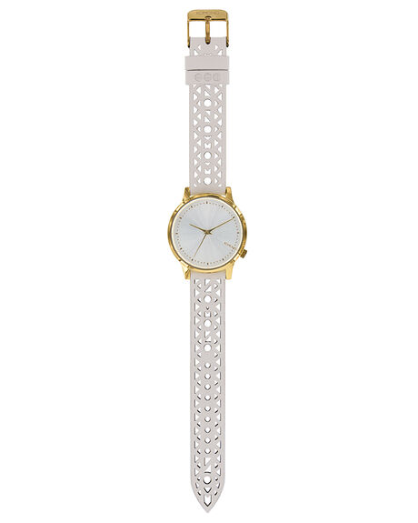 WHITE WOMENS ACCESSORIES KOMONO WATCHES - KOM-W2652WHT