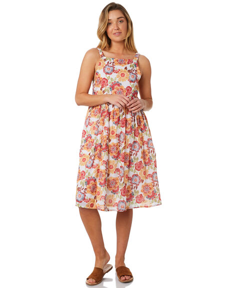 WHITE OUTLET WOMENS THE HIDDEN WAY DRESSES - H8184451WHITE