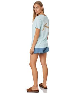 MINT WAVE WOMENS CLOTHING RUSTY TEES - TTL1108MTWV