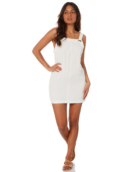 WHITE WOMENS CLOTHING RUSTY DRESSES - DRL1066WHT