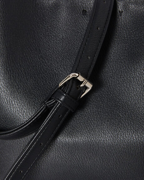 BLACK WOMENS ACCESSORIES RUSTY BAGS + BACKPACKS - BFL1102BLK