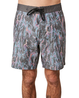BLACK MENS CLOTHING RUSTY BOARDSHORTS - BSM1394BLK