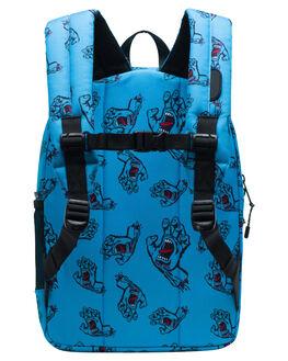 SANTA CRUZ BLUE KIDS BOYS HERSCHEL SUPPLY CO BAGS + BACKPACKS - 10312-02573-OSSCB
