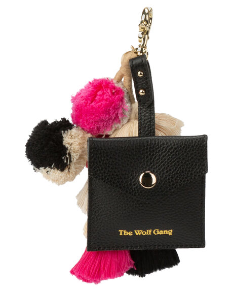 NOIR LEATHER WOMENS ACCESSORIES THE WOLF GANG PURSES + WALLETS - TWGGG19A01NOIRL