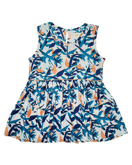 MULTI KIDS TODDLER GIRLS CHILDREN OF THE TRIBE DRESSES + PLAYSUITS - GRDR0325MUL