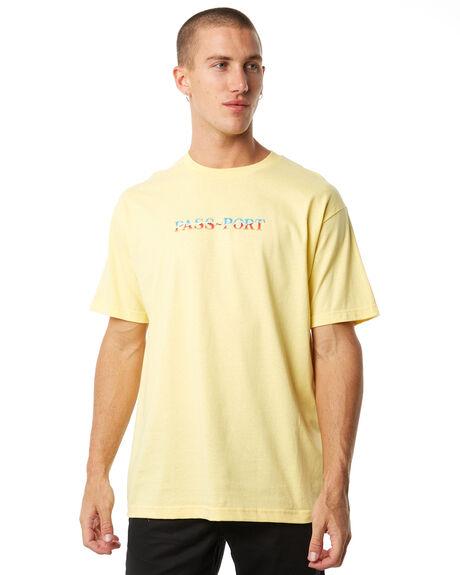 BANANA MENS CLOTHING PASS PORT TEES - R23CHROMETEEBAN
