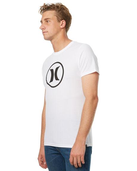 WHITE MENS CLOTHING HURLEY TEES - AMTSBKDF210AB