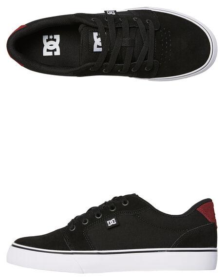 BLACK BIKING RED MENS FOOTWEAR DC SHOES SNEAKERS - 303190KKR