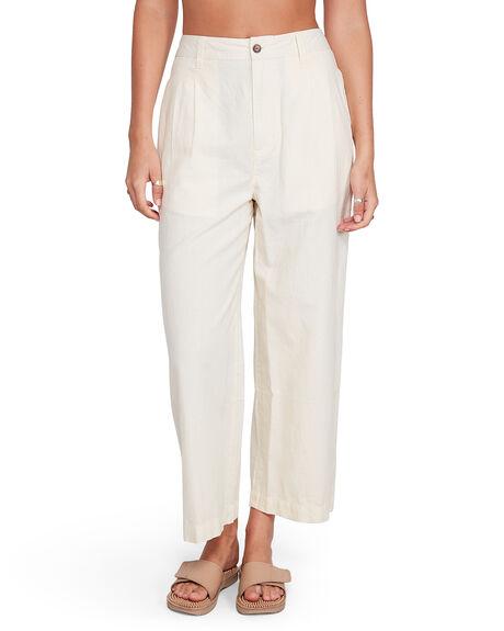 BLEACHED WOMENS CLOTHING RVCA PANTS - RV-R206272-B25