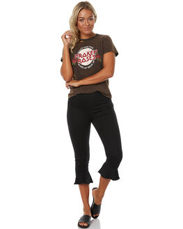 BLACK WOMENS CLOTHING MINKPINK PANTS - MP1702530BLK