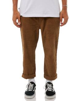 MOCHA MENS CLOTHING STUSSY PANTS - ST085601MOC