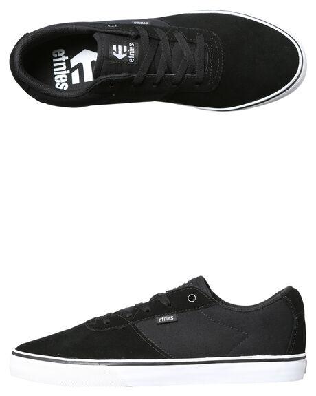 BLACK WHITE MENS FOOTWEAR ETNIES SNEAKERS - 4101000457-976