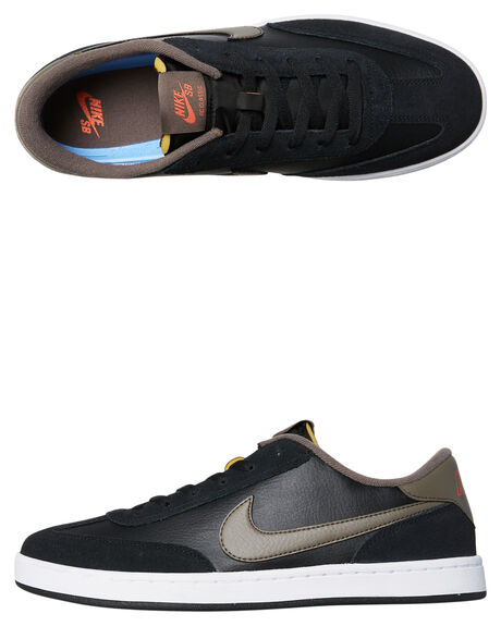 BLACK RIDGEROCK MENS FOOTWEAR NIKE SNEAKERS - 909096-004