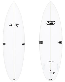 WHITE BLACK BOARDSPORTS SURF HAYDENSHAPES SURFBOARDS - HSWHTNOISEWHTBK