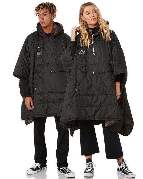 BLACK/OLIVE CAMO MENS CLOTHING POLER JACKETS - 43560001-OCO