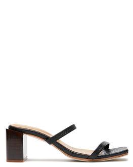 BLACK CROC WOMENS FOOTWEAR JAMES SMITH HEELS - 11671437BLKC