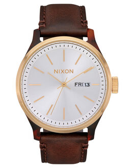 TORTOISE WHITE BROWN MENS ACCESSORIES NIXON WATCHES - A1263-3169