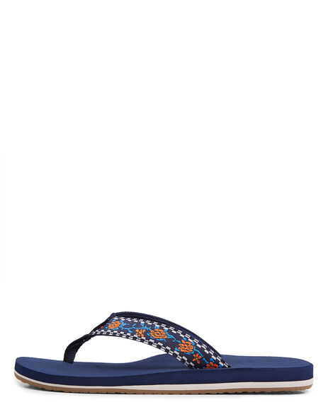 NAVY MENS FOOTWEAR BILLABONG THONGS - BB-9603956-NVY