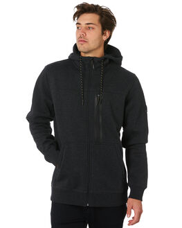 BLACK HEATHER MENS CLOTHING BILLABONG JACKETS - 9595619BLKHT