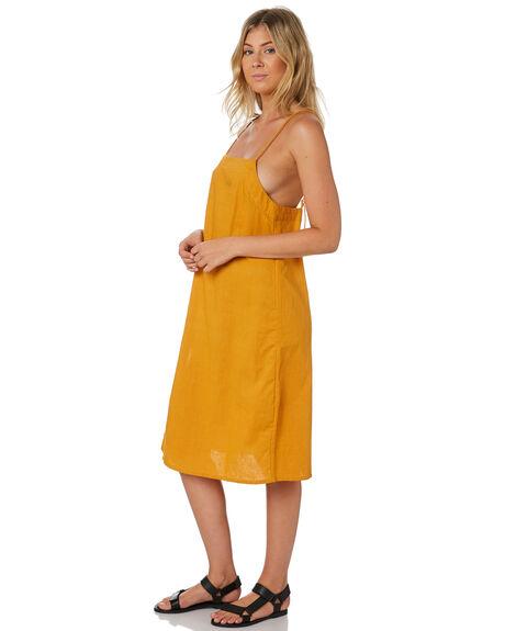 TOBACCO WOMENS CLOTHING RUE STIIC DRESSES - RWS-19-01-1TBL