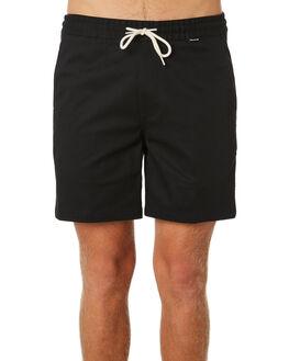 BLACK MENS CLOTHING HURLEY SHORTS - AV7955010