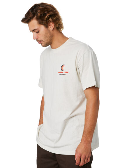 OFF WHITE MENS CLOTHING THE CRITICAL SLIDE SOCIETY TEES - TE18278OFWHT