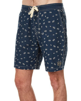 BLUE MENS CLOTHING THE CRITICAL SLIDE SOCIETY BOARDSHORTS - WSB1705BLU