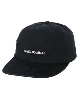 DIRTY BLACK MENS ACCESSORIES BANKS HEADWEAR - HA0101DBL