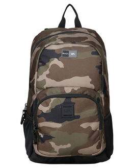 CAMO MENS ACCESSORIES RVCA BAGS + BACKPACKS - RV-R391454-CMO