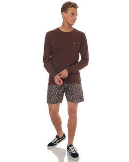 DUSTED TAUPE MENS CLOTHING RHYTHM TEES - OCT17M-CT10-TAU