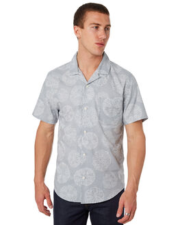 PEARL BLUE SAND OUTLET MENS OUTERKNOWN SHIRTS - 1310095PSD