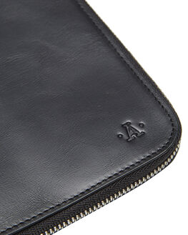 BLACK MENS ACCESSORIES ATLAS LIFESTYLE CO WALLETS - ATL-P01BLK