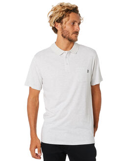 LIGHT GREY MARLE MENS CLOTHING RIP CURL SHIRTS - CPLCS13597