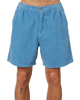 MID BLUE OUTLET MENS NO NEWS SHORTS - N5201233MIDBL
