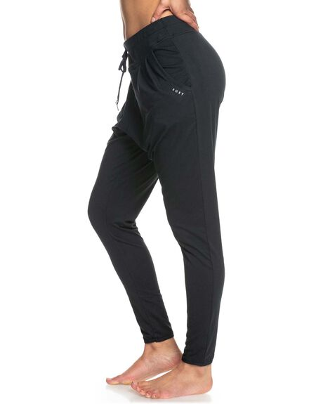 ANTHRACITE WOMENS CLOTHING ROXY PANTS - ERJNP03395-KVJ0